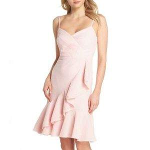 J. Crew Women Spaghetti Strap Ruffle Dress